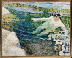 Frantisek Kupka- Water. The Bather. 1907