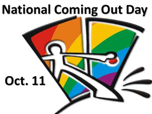:: INVESTMENT :: Today is National Coming Out Day and we hope where ever you are and when you do decide to come out, you have all the support YOU need. Happy out of the gay closet day. :-)