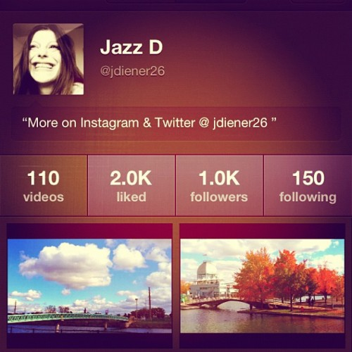 Just reached 1000 #Viddy Followers! Very fun App if you don't know it! (it's free) @teamviddy  (Taken with Instagram)