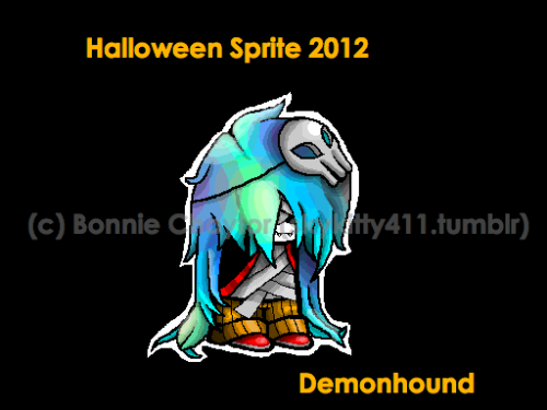 skykitty411:  Part of the halloween sprites I put up earlier. Uploading this on its own because i havent made the other 3 yet. This one is for my buddy Demonhound  Look at this awesomeness! I love (platonically) You bonnie!!!!