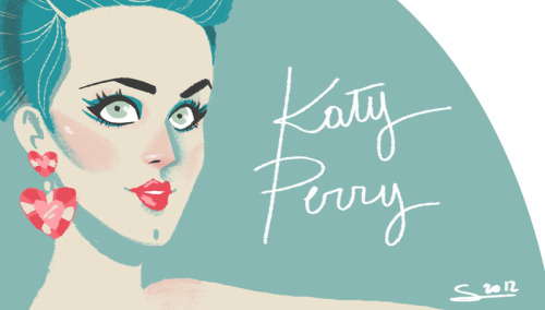 Today I'm drawing… Katy Perry !