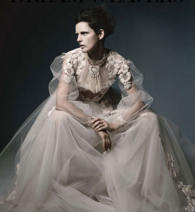 bohemea:  Stella Tennant: Dream Weavers - WSJ by Daniel Jackson, May 2012