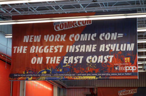 laughingsquid:  New York Comic Con = The Biggest Insane Asylum on the East Coast