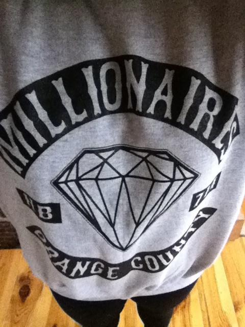 assketchum:  new oversized millionaires crewneck jumper, hollaaaa