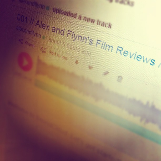 It's up! http://m.soundcloud.com/alexandflynn/001-alex-and-flynns-film (Taken with Instagram)
