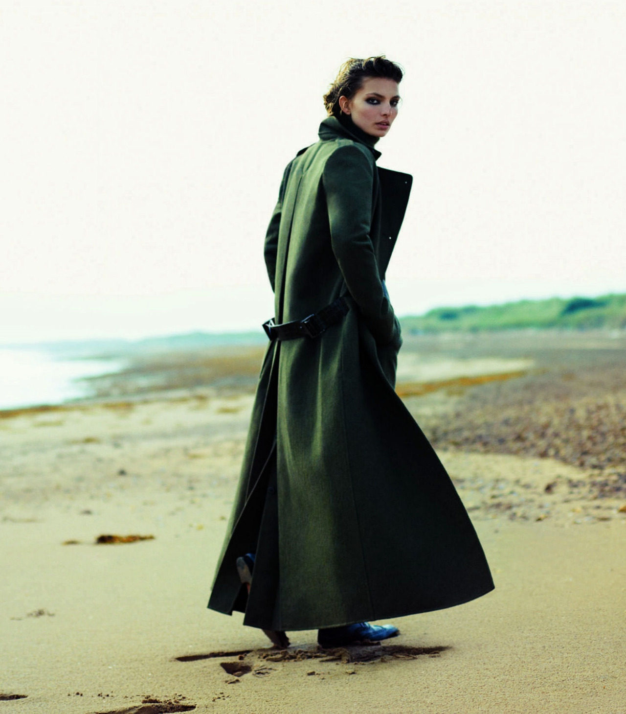 """Across the Border"": Carola Remer by Ben Weller for Harper's Bazaar UK November 2012"