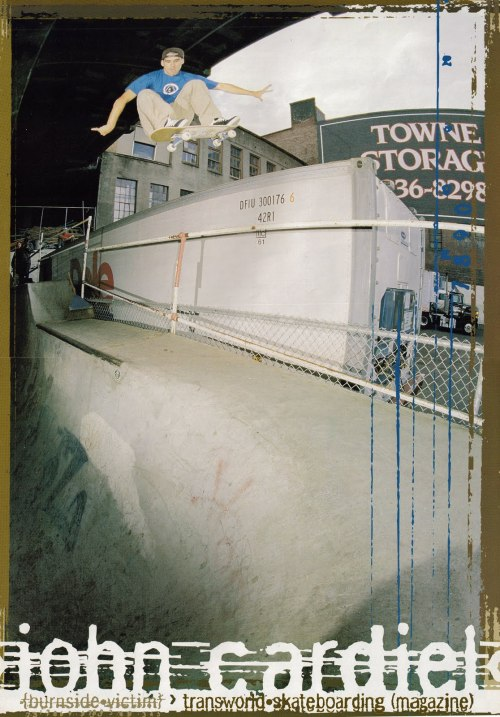 John Cardiel. Burnside. Portland, OR. 1998.  Actually had this foldout in my bedroom back in high school…lol.
