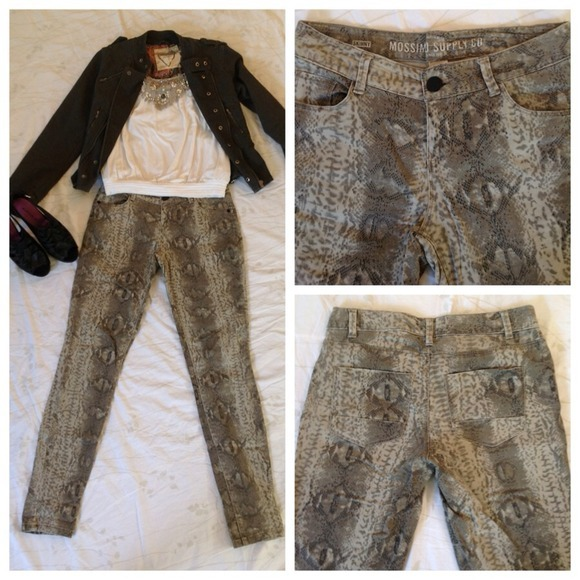 I just added this to my closet on Poshmark: Python print pants - size 5. (http://bit.ly/WXVmzW) #poshmark #fashion #shopping #shopmycloset