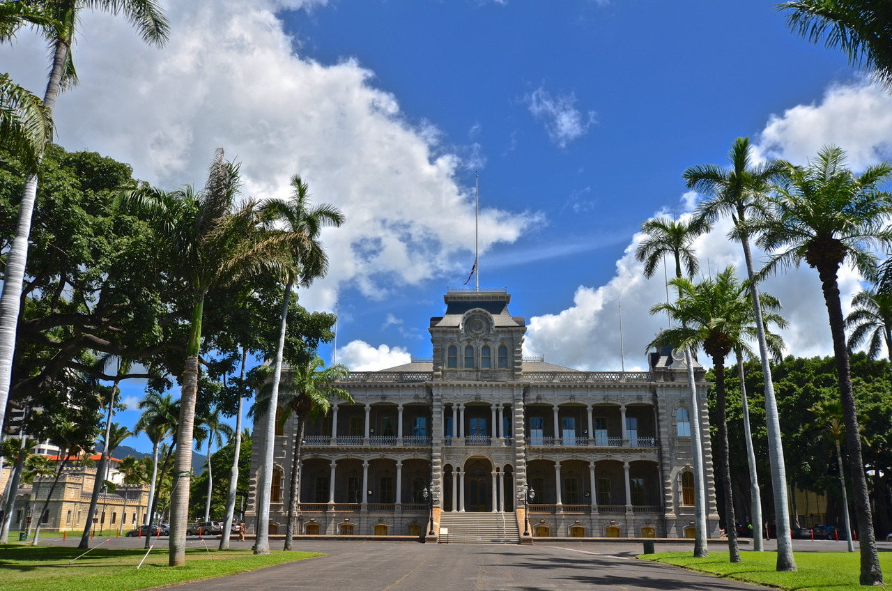 'Iolani Palace, Honolulu.