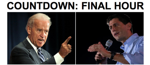 It's almost time! We're counting down (and broadcasting the debate) on HuffPost Live.