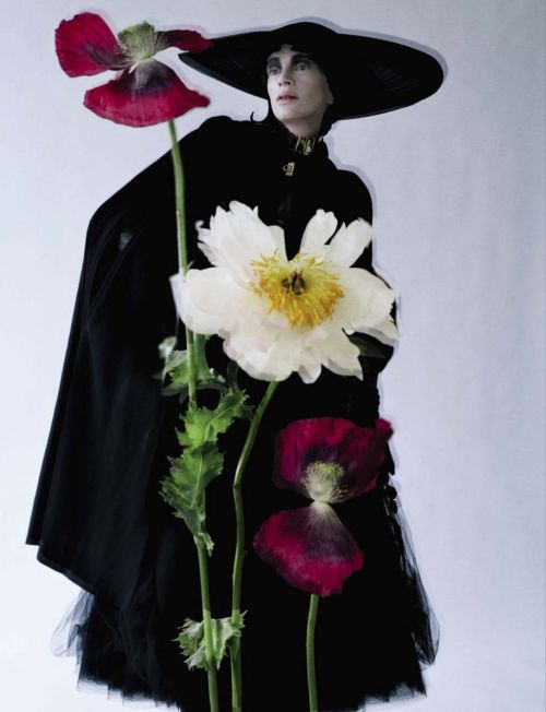 "vogueweekend:  ""Black and Roses"", Kristen McMenamy photographed by Tim Walker in Vogue Italia October 2012"