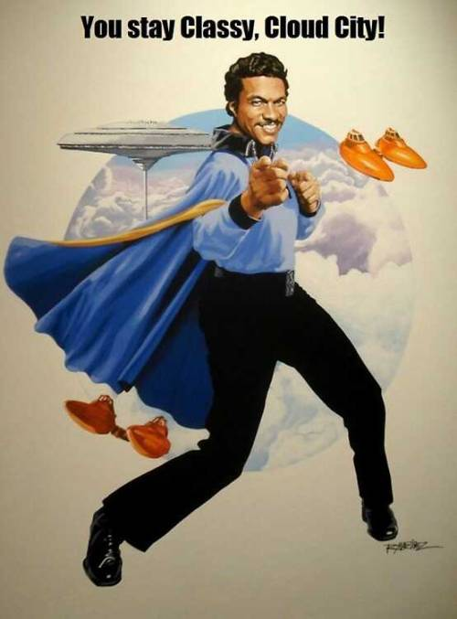 Lando calrissian you so smooth