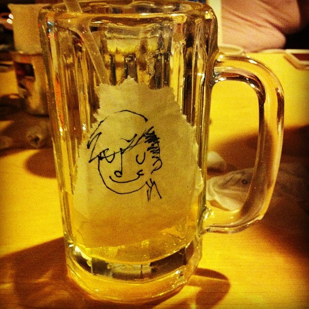 Etiqueta cool de mi cerveza hum #beer #dump #sketch #sketchbook #cool #bar #creative #mty #mextagram #instagood  (Taken with Instagram)