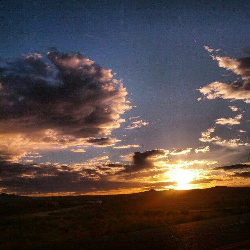 #albuquerquesunsets #nofilter  (Taken with Instagram)