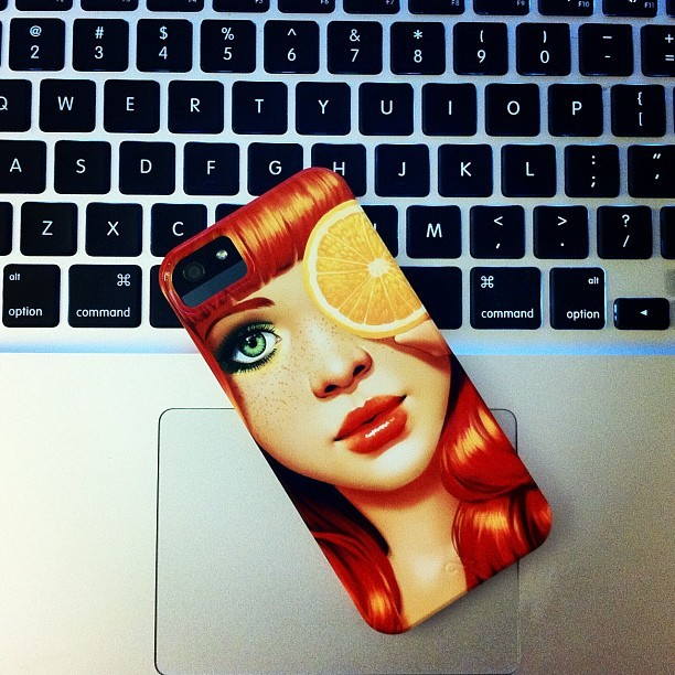 iPhone 5 Case from Zazzle, but not my iPhone 5 :( (Taken with Instagram at Zazzle)