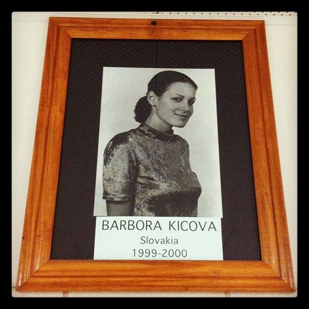 I never would have graduated if I was a senior while Barbora was an exchange student… (Taken with Instagram)