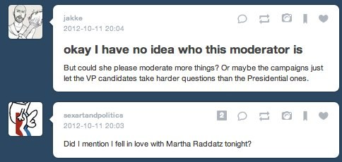 this is now a martha raddatz appreciation tumblr