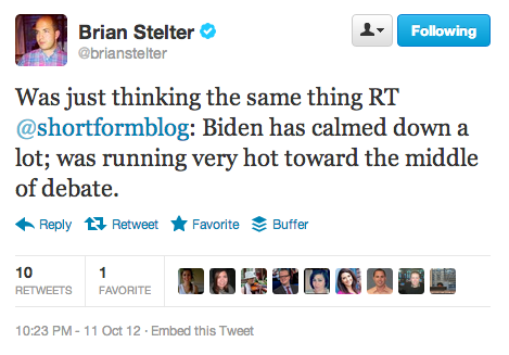 In a way, though, the only time Biden ever cools down is when he's washing down his Trans Am.