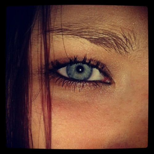 Makeup!! #nightout #eyes #makeup #fashion (Taken with Instagram)