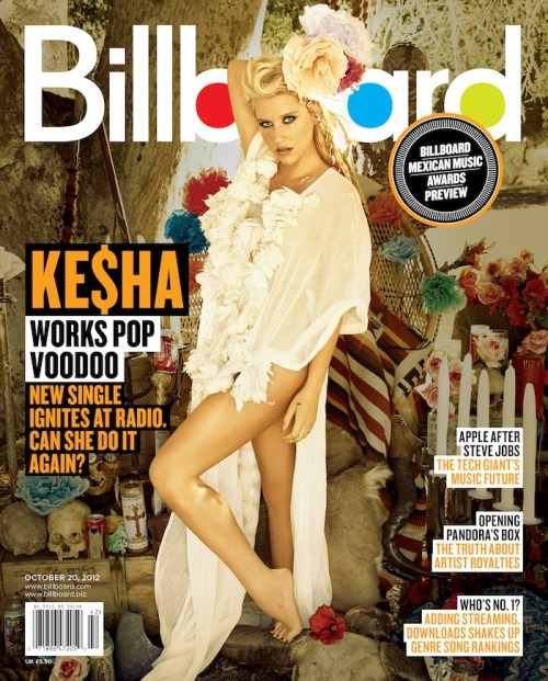 Ke$ha covers the latest issue of Billboard magazine! Get a first look (stay tuned for the story) and click here to subscribe.