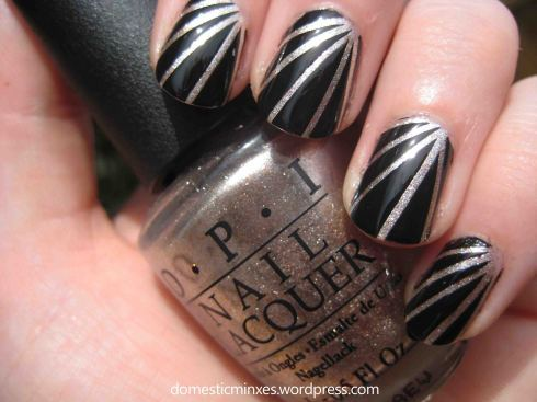 OPI Designer… De Better! with China Glaze Liquid Leather.