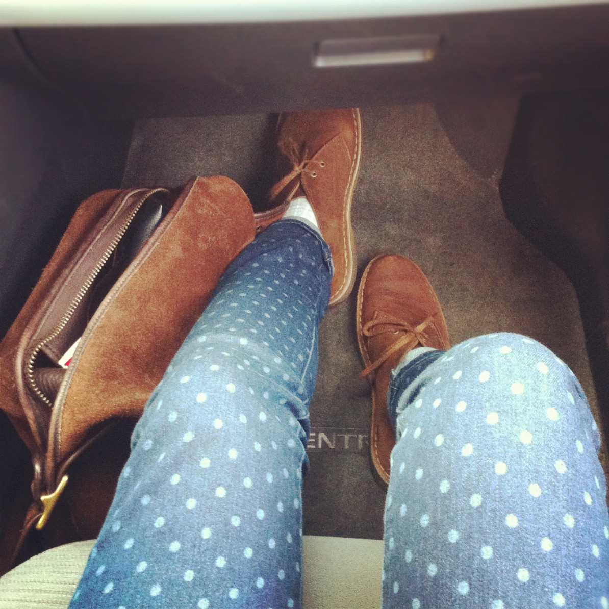 Of dots and desert boots.