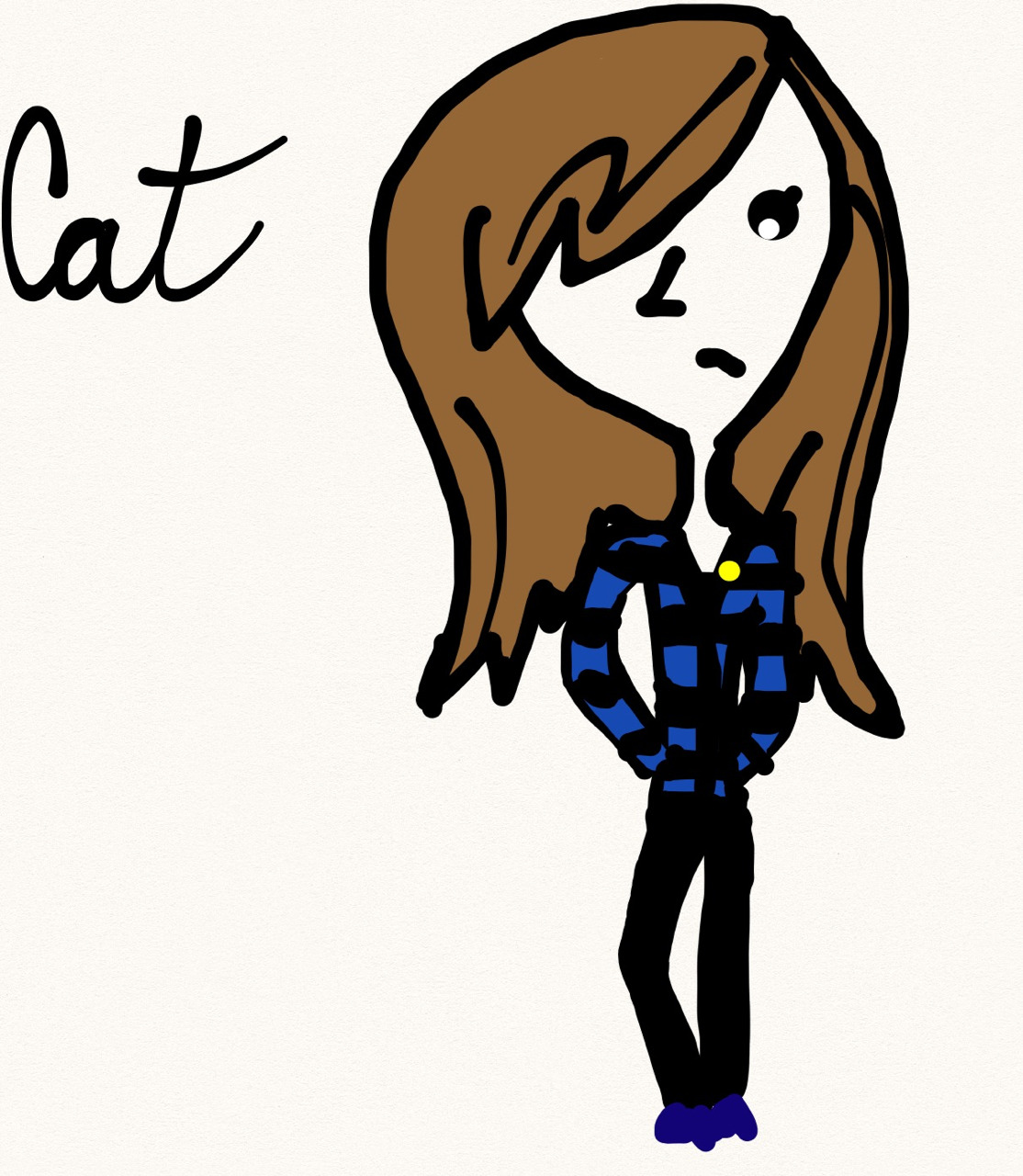 My failed attempt at drawing myself…