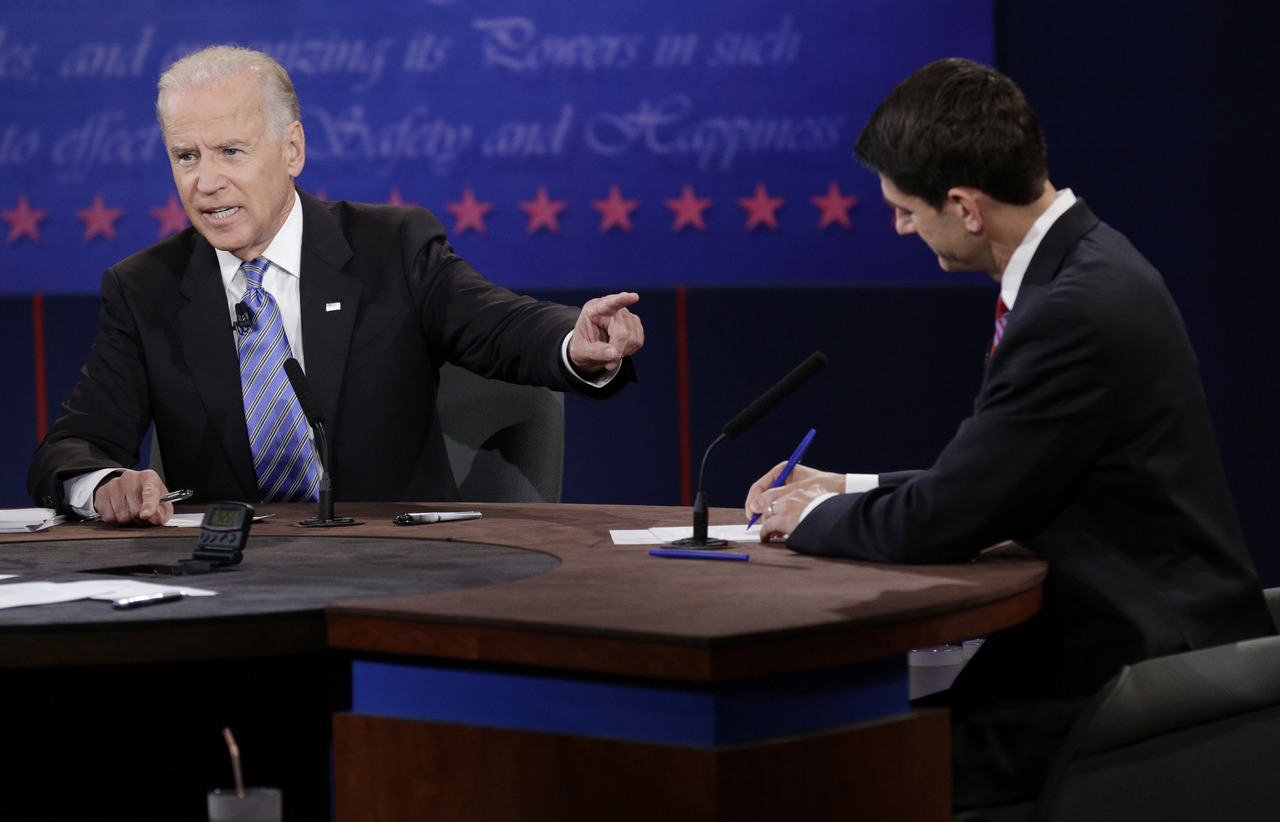 REUTERS PHOTOS: The 2012 Vice Presidential Debate