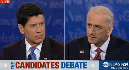 tastefullyoffensive: Biden/Ryan Hair Swap Previously: Obama/Romney Hair Swap