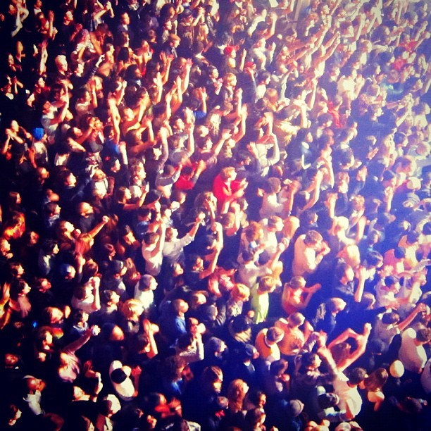 when something goes right. #SBTRKT (Taken with Instagram at Terminal 5)
