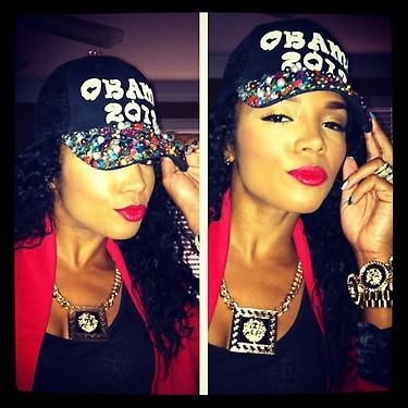 (via Rasheeda Shows Her Support For President Obama)