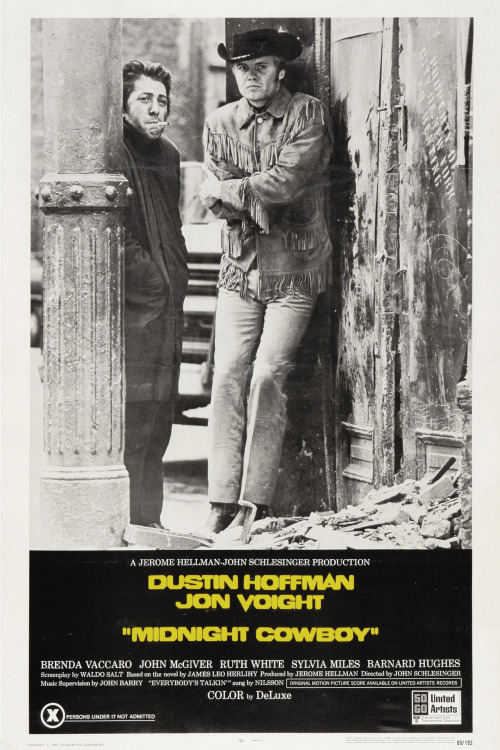 Movies You Should See Midnight Cowboy (1969) / Drama / Trailer / Wiki / Watch (Netflix) Gritty, grainy (really grainy, especially if you watch it in HD), one incredible film. Other movies you should see