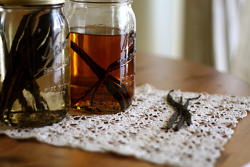 Make your own bourbon vanilla extract. Can't wait to try this!