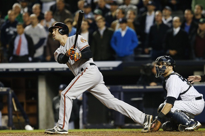 JJ Hardy proves clutch in Game 4 with RBI Double. O's stay alive.