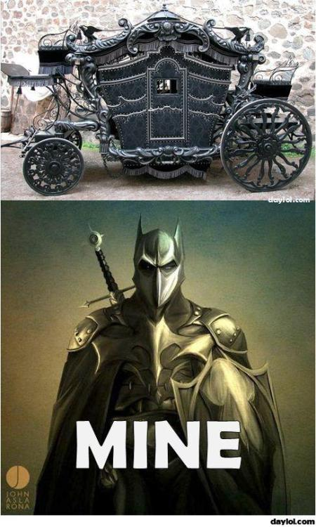 Ye Old Batmobile