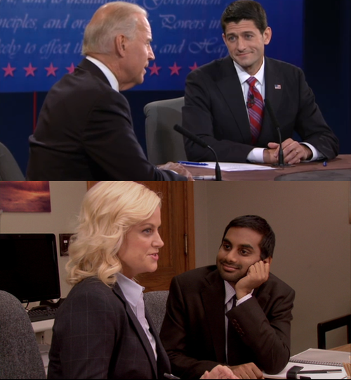 The VPs Have Parks and Rec Doppelgangers Danville must be closer to Pawnee than we realized.