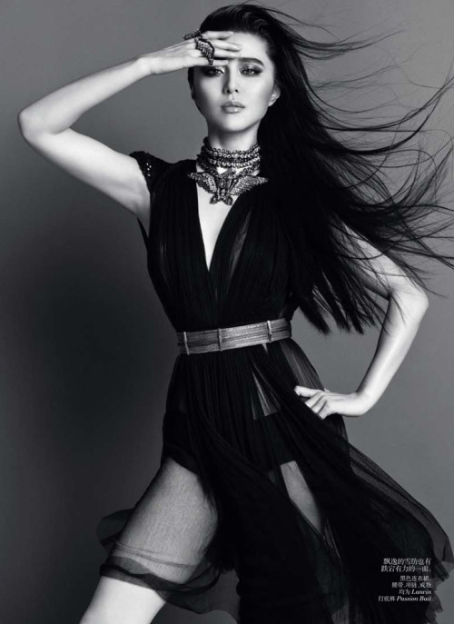 suicideblonde:  Fan Bing Bing photographed by Inez and Vinoodh for Vogue China, April 2012