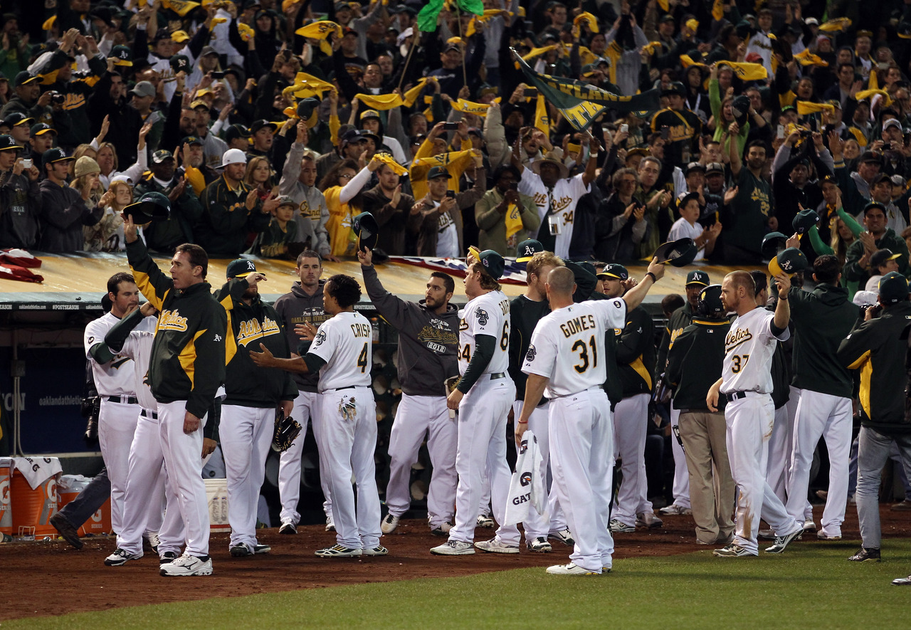 oaklandathletics:  (Photo: Ezra Shaw/Getty Images)