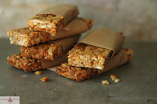 Pumpkin Butterscotch Granola Bars