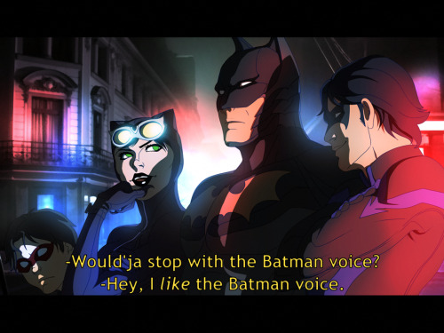 Batman Voice by *Harseik Just gonna go cry for a bit over the fact that this isn't a real animation…