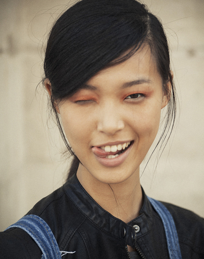 paris winkers, tian yi after chloé s/s 2013