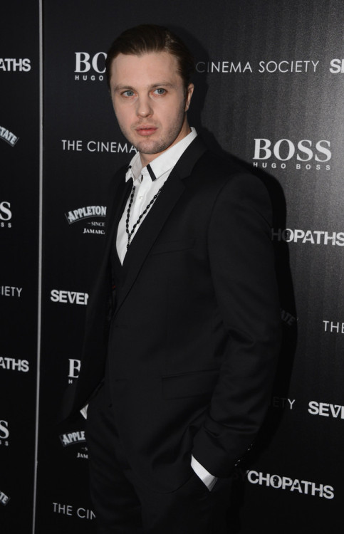 bohemea:  Michael Pitt - Seven Psychopaths NYC premiere, October 10th 2012