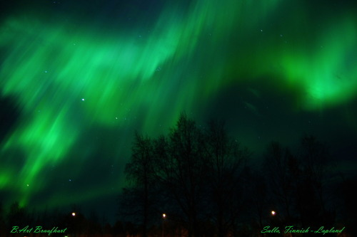 Auroras by B.Art Braafhart
