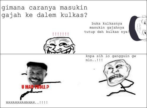 hahahaha bapak jaya vs troll