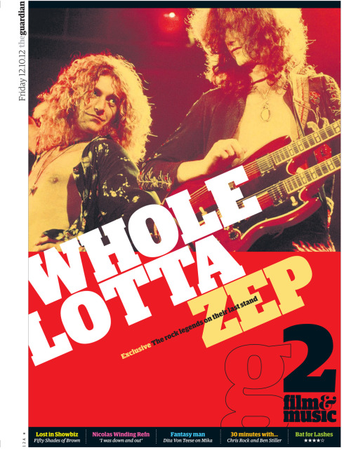 Led Zeppelin: 'There was a swagger – we knew we were good' The film Celebration Day captures Led Zeppelin onstage in all their glory in 2007. The band discuss their musical legacy, reputation for excess – and why they will never reunite again