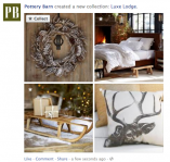 "Facebook collections is a new feature that copies Pinterest with ""want/collect"" buttons."