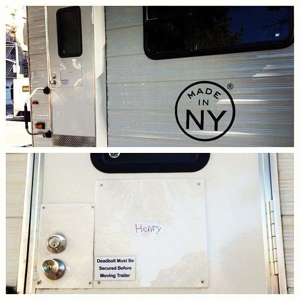 Please have my #trailer ready for when I get in there. Thank you. #movie #set (Taken with Instagram)