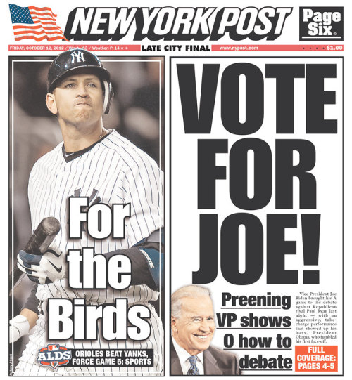The Post urges readers to 'Vote for Joe'