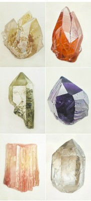 bourgeoisbohemianism:  (via Style / power crystals! by carley waito)