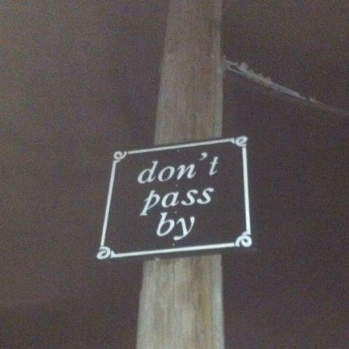 Don't tell me what to do, pole.  (Taken with Instagram)